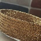 "GOLD LUREX BRAID- CHOOSE FROM 6MM (15/64"") TO 25MM (1"") X 5 METRES - GLITZY"