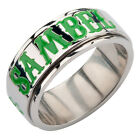 Sons of Anarchy SAMBEL Clover Stainless Steel Spinner Ring - sizes 6, 8-12