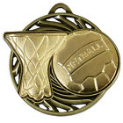NETBALL Vortex Medal Achievement Award FREE ENGRAVING With Ribbon AM922