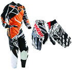 Thor Youth Phase Mask Orange Black Jersey Pants with Void Urban Gloves Dirt Bike