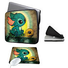 Sleeve Case Bag+Mouse Pad for 11-15.6 Ultrabook Laptop Macbook Air/Pro Acer Dell