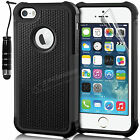 New Hard Back ShockProof Case Cover For APPLE iPhone 5 5S Free Screen Protector