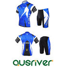 New Cycling Bike Comfortable Clothes Jersey Shirts Short Pants Suit 3D Padded