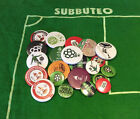 4 spillette spille Subbuteo - Spares players - Spare - Pins spilla
