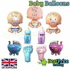 Baby XL Foil Balloon Boy Girl Unisex Baby Shower Christening Birthday Newborn