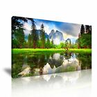 NATURE Lake Canvas Landscape Framed Print Wall Art 15 ~ More Size
