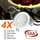 240v 13W CW/WW Dimmable Chrome LED Courtesy Down Light Home/Domestic/Hotel