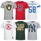 MLB Baseball Fan T-Shirt Majestic Major Leaugue Fanshirt XS S M L XL 2XL neu