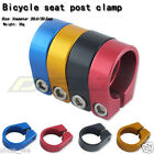 Road BMX bicycle Bike saddle Seatpost Clamp clip 28.6/30.2mm stationary