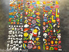 5 SHEETS KIDS 3D PUFFY REUSABLE STICKERS ZOO ANIMALS, FISH, BIRDS, PANDAS UKSELL