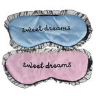 Favored New Cute Lace Sleeping Eye Mask Blindfold Shade Sleep Aid Satin Favored
