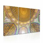 RELIGION Islamic Mosque Canvas Framed Printed Wall Art 16 ~ 3 Panels