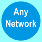 Cell / Mobile / Smart Phone Network Stickers - Unlocked, US Cellular, Sprint