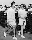 1950 ALTHEA GIBSON & BARBARA KNAPP FOREST HILLS PHOTO