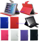 Universal Adjustable PU Leather Stand Case Cover For Tablet 10.1 7 8 9 9.7
