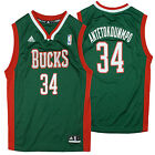 Adidas NBA Youth Milwaukee Bucks Giannis Antetokounmpo # 34 Replica Jersey