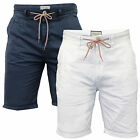 Mens Chino Shorts Brave Soul New Summer Cotton Twill Roll Up Casual Bottoms