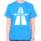 AUTOBAHN T SHIRT - MOTORWAY AUTOMOTIVE VINTAGE SYNTH SYNTHESIZER AUTOROUTE SHIRT