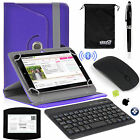 EEEKit Office Kit for 8 inch Tablet Case Cover+Wireless Bluetooth Keyboard Mouse