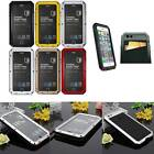 Aluminum Metal Gorilla Glass Shockproof Wallet Card Case For iPhone 6 Plus 5.5''