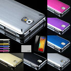 Luxury Brushed Metal Aluminum Hard Case Cover For Samsung Galaxy Note 3 N9000