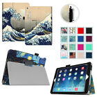Super Slim Folio Leather Stand Case Sleep/Wake Cover for Apple iPad Air 1st Gen