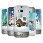 HEAD CASE CHRISTMAS IN JARS SILICONE GEL CASE FOR HTC ONE M8
