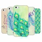 HEAD CASE PEACOCK FEATHERS SILICONE GEL CASE FOR APPLE iPHONE 5C