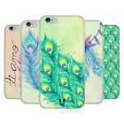 HEAD CASE PEACOCK FEATHERS SILICONE GEL CASE FOR APPLE iPHONE 6 4.7