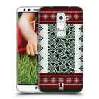 HEAD CASE KNITTED CHRISTMAS SILICONE GEL CASE FOR LG G2 D802