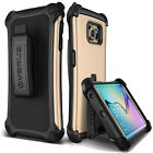 Galaxy S6 EDGE Dual Layer Case with Holster [VERUS THOR ACTIVE] Metallic Extreme