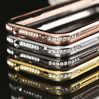 Diamond Crystal Bling металл Frame Bumper Case чехол For Samsung Galaxy S5 i9600