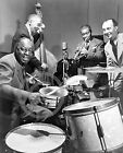 1947 Louis Armstrong & Dodds Foster This Is Jazz Photo