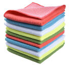 """Microfiber Dish Cloth Kitchen Cloths with Poly Scour Side 12""""x12"""""""