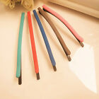 New Cheap Wholesale Korean Candy Colors Frosted Word Folder Hair Clips Hairpin