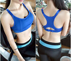 Sexy Women Yoga Vest No Rims Bra Tops Sports Seamless Bra Adjustable Underwear