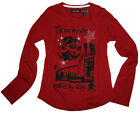 ♦NEU♦ Must Have LA Shirt im Grunge Look von~ BLUE SEVEN ~ Youth in D.Rot Gr.Wahl