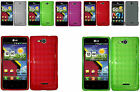 Any TPU Skin Soft Gel Cover Case For LG Optimus Exceed VS840PP Verizon Phone