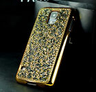 Bling Glitter Rhinestone Crystal Hard Cover Case For Samsung S6 S7 Edge / iPhone