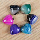 Similar Item! Wonderful! Agate Druzy Geode Heart Pendant Bead ADS111