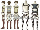 Shingeki no Kyojin Belts Attack on Titan harness Cosplay Pleather Straps AOT