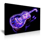 Acoustic Guitar Canvas Music Modern Home Office Wall Art 9 size