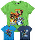 Boys Skylanders T Shirt Short Sleeve Kids Swap Force Top New Age 6 8 10 12 Years