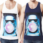 Mens Vest Chunk StarWars Stormtrooper Bubble Gum Elite Soldier Galactic Tank Top