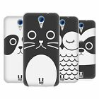HEAD CASE CARTOON ANIMAL FACES SERIES 1 SILICONE GEL CASE FOR HTC DESIRE 620