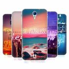 HEAD CASE WORDS TO LIVE BY SERIES 4 SILICONE GEL CASE FOR HTC DESIRE 620