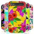 HEAD CASE PAINTED FLOWERS SILICONE GEL CASE FOR BLACKBERRY CLASSIC Q20