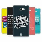 HEAD CASE BEYOND THE DISABILITY SILICONE GEL CASE FOR SONY XPERIA M2