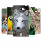 HEAD CASE FAMOUS ANIMALS SILICONE GEL CASE FOR SONY XPERIA M2