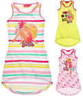 Girls Barbie Sun Dress Kids Cotton Summer Dresses Pink New Age 2 4 6 8 Years